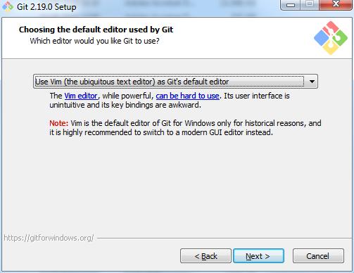 Installation von git for Windows   th-h de